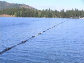 oxygen line at N Twin Lake