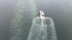 Kitsap Lake phoslock application June 2020.